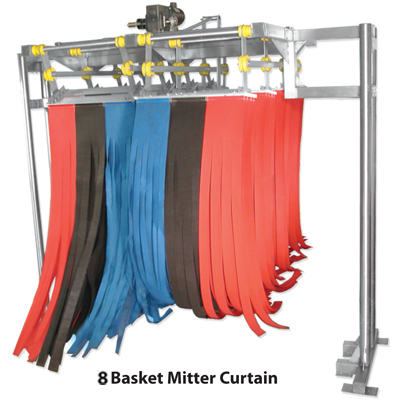 8 basket meter curtain